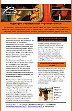 Migrating out of Poverty programme leaflet